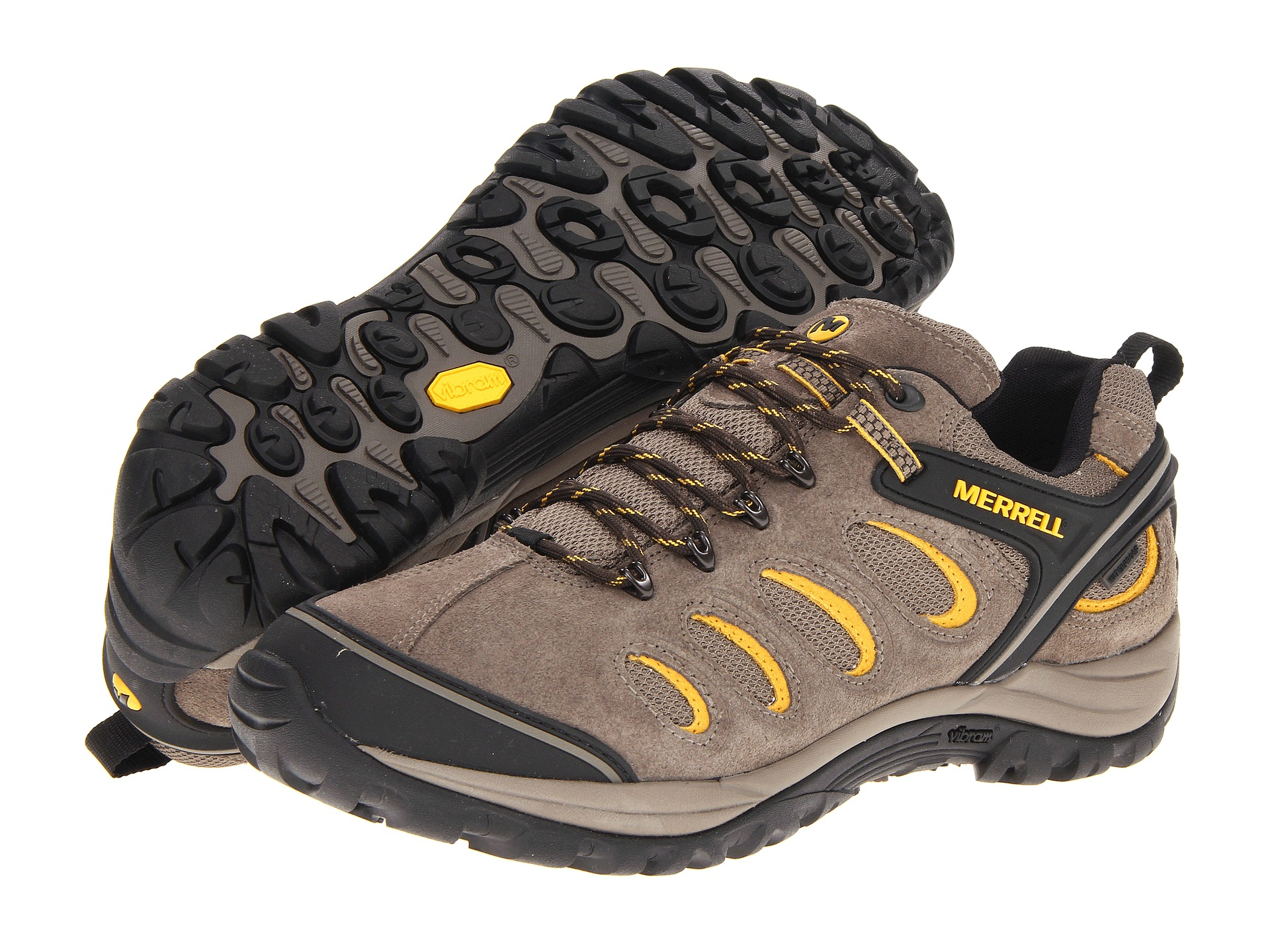 merrell chameleon 5 waterproof  shipped free at zappos