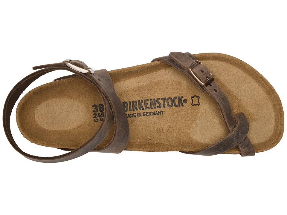 09ca3917f2af Birkenstock Yara Oiled Leather Womens Sandals