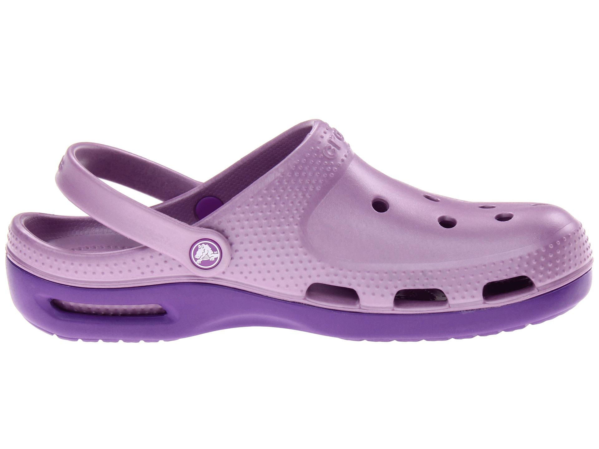 11ddc017b3aa Crocs Duet Core Plus Clog Iris Neon Purple on PopScreen