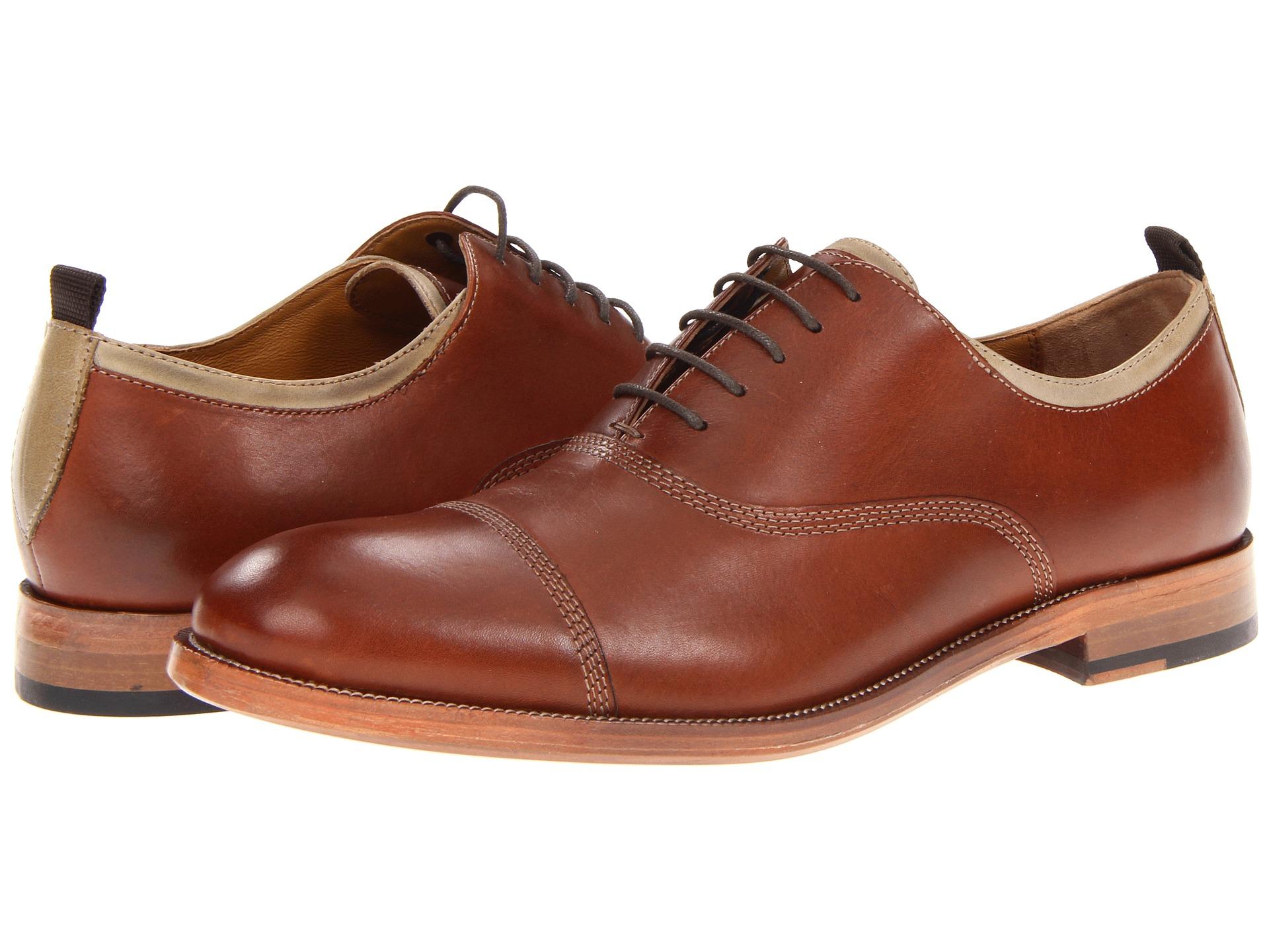 Johnston Murphy Clayton Cap Toe Shoes Shipped Free At