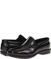 Nunn Bush Bristol Side Zip Ankle Boot Black Black