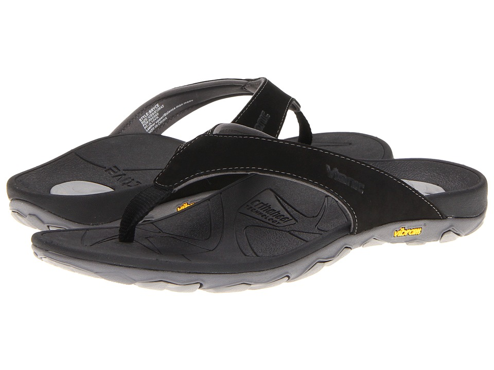 e8f6acdd424 ... UPC 616542056377 product image for VIONIC with Orthaheel Technology -  Bryce (Black) Men s Sandals