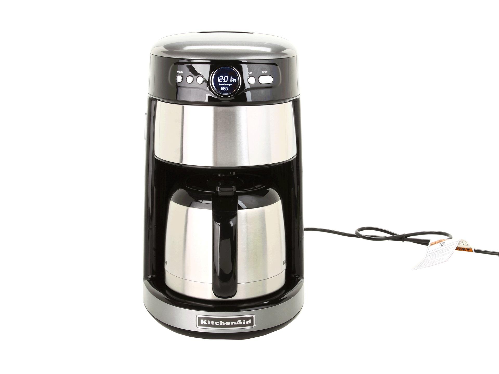Kitchenaid 12 Cup Thermal Coffee Maker Shipped Free At