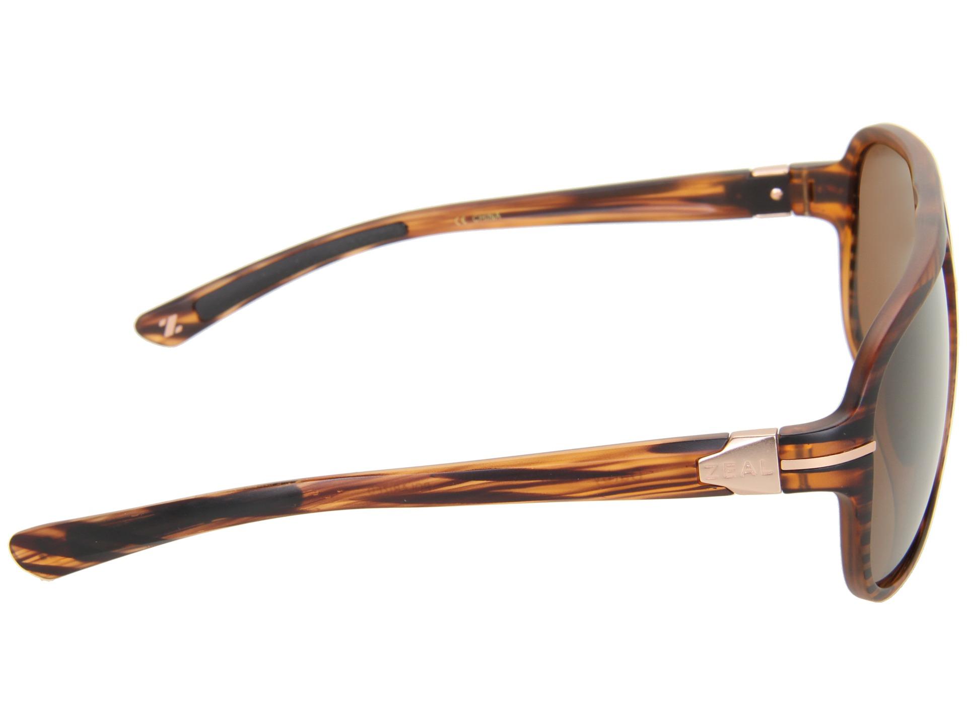 332416762d Zeal Optics Darby (Polarized) Matte Wood Grain w   Copper Polarized Lens