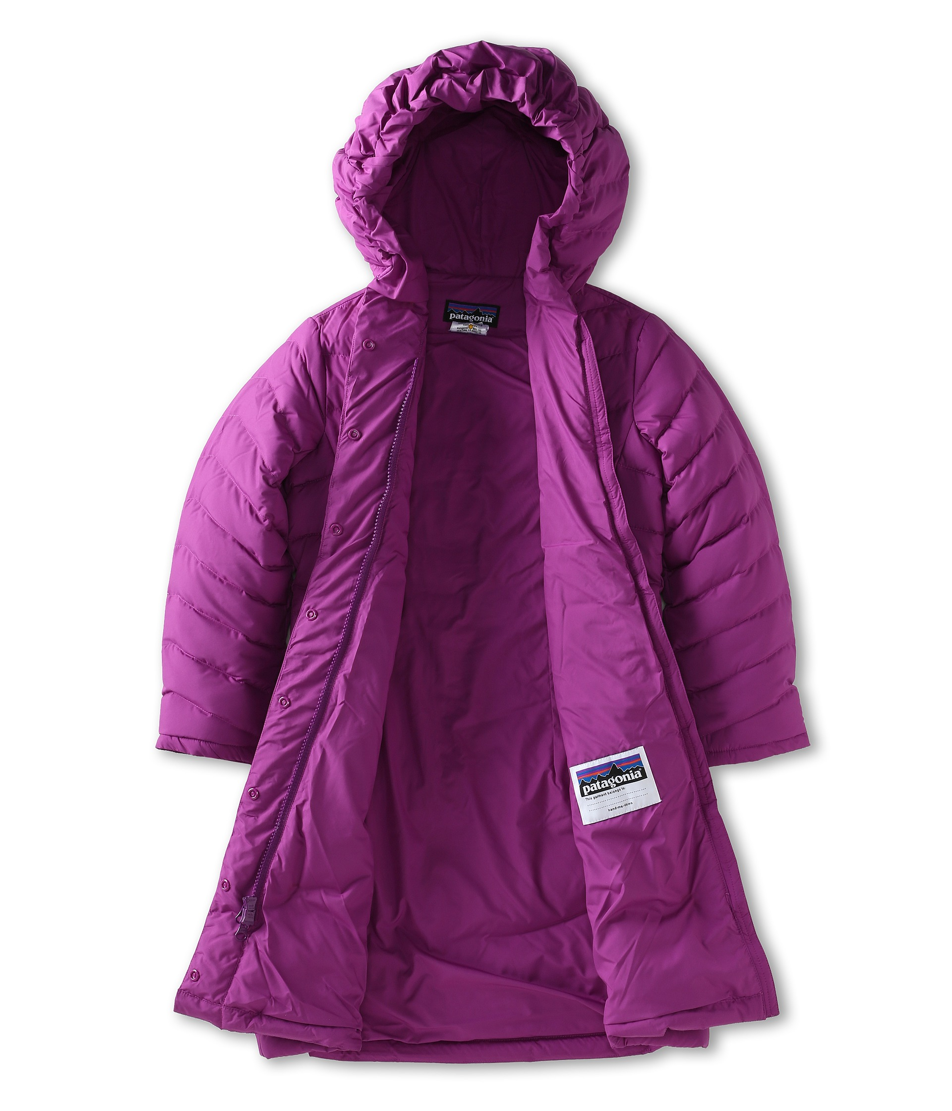 Patagonia Kids Girls Down Coat Little Kids Big Kids