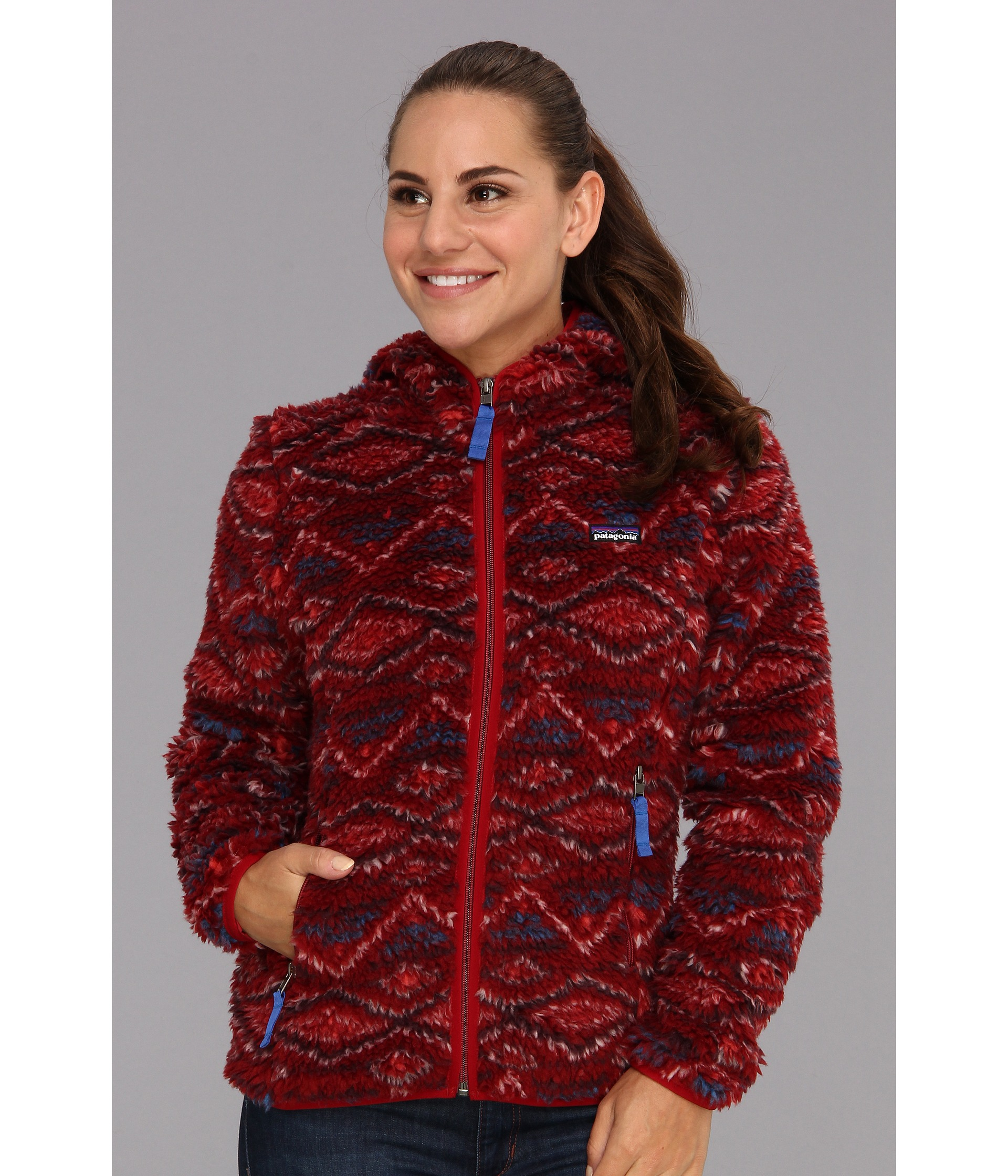 6b108d49ddb Patagonia Retro X Cardigan Aiyana Wax Red on PopScreen