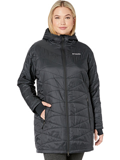 9f2a1b32892 review detail Columbia Plus Size Mighty Lite™ Hooded Jacket Black.