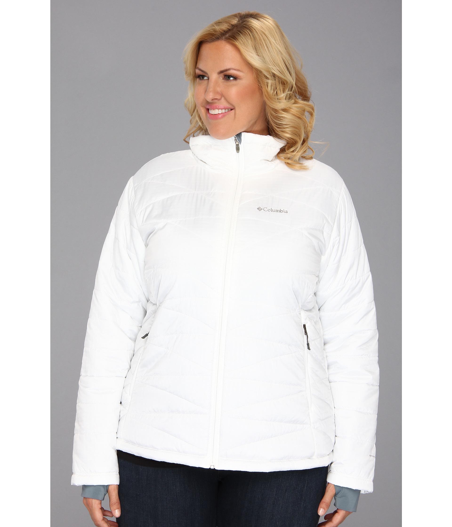 Columbia winter coats for women plus size