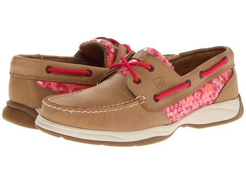 Sperry Intrepid Boat Shoes Women Linen