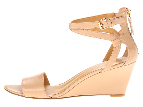 ef3c303f38ff The Wardrobe Curator  A great nude dressy wedge at a fair price