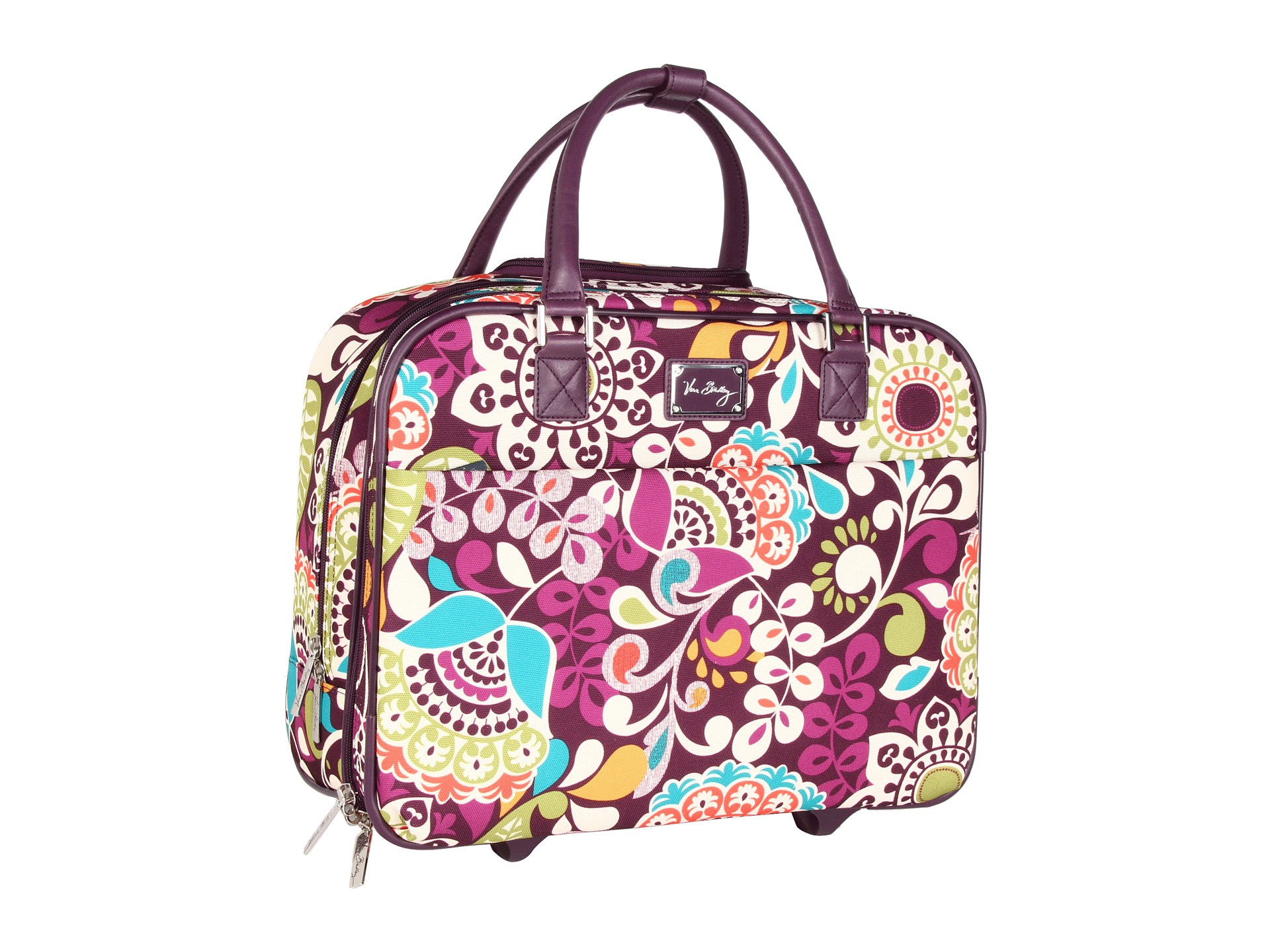 f19e7820b Small Tote Bags: Vera Bradley Luggage With Wheels