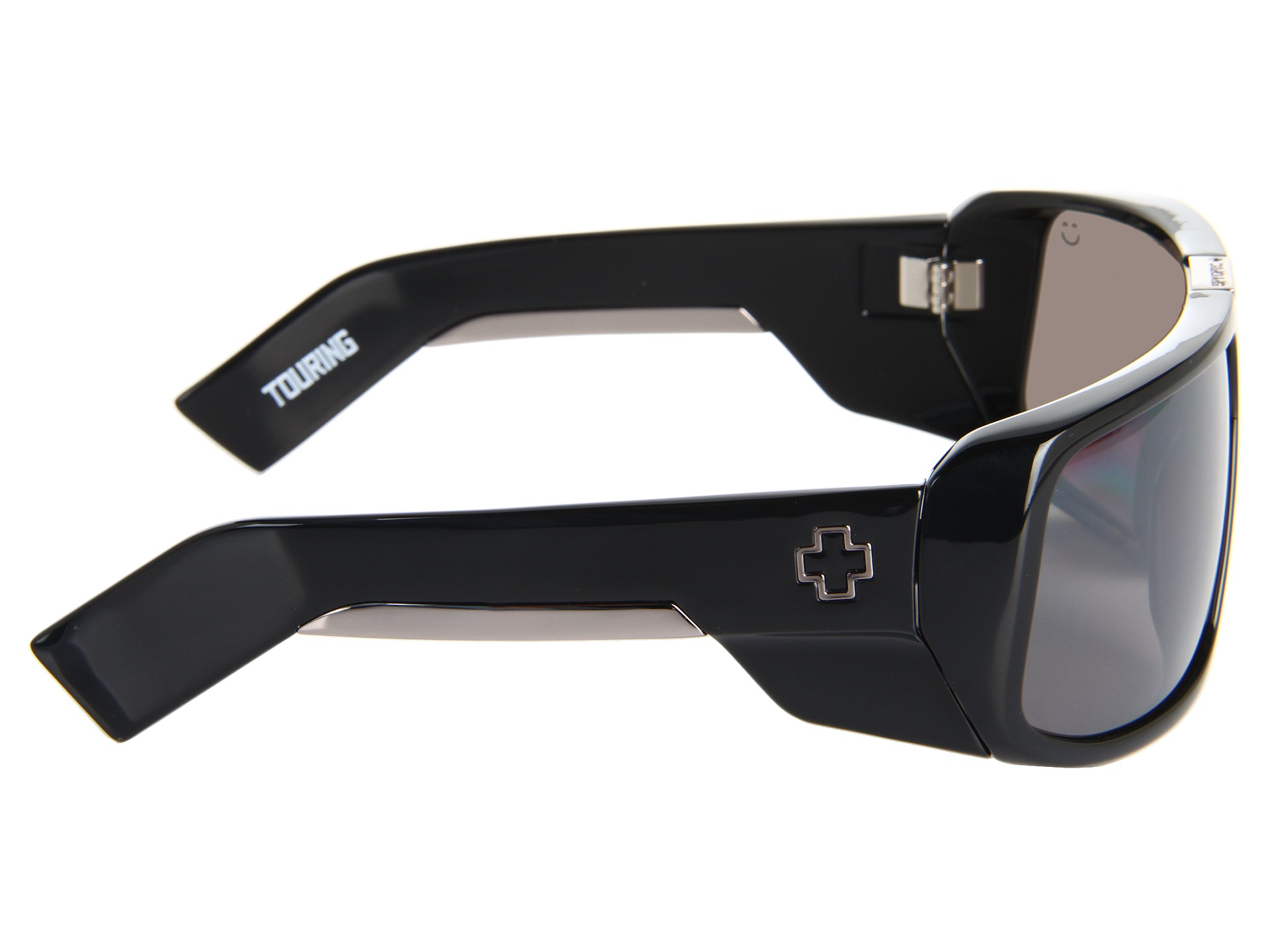 ab164273225 Spy Optic Touring Happy Lens Black Happy Bronze Polar W Black Mirror ...