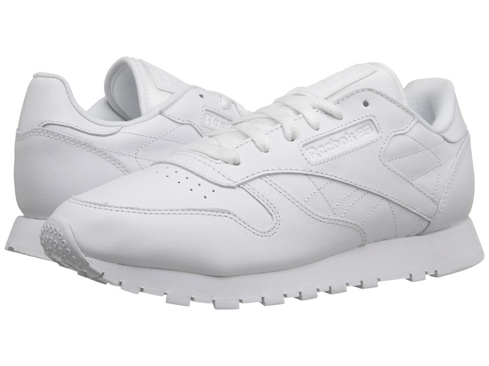 6e096d3cb24c30 ... Shoe Reebok Lifestyle CL Leather CTM R13 (White White White) Women s  Lace up ...