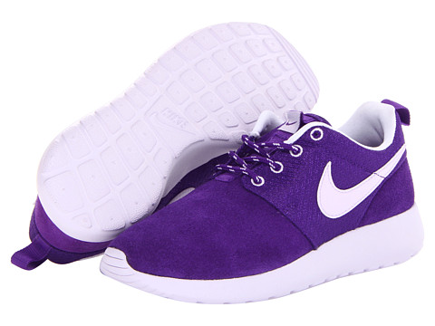nike kids roshe run little kid big kid electro purple. Black Bedroom Furniture Sets. Home Design Ideas