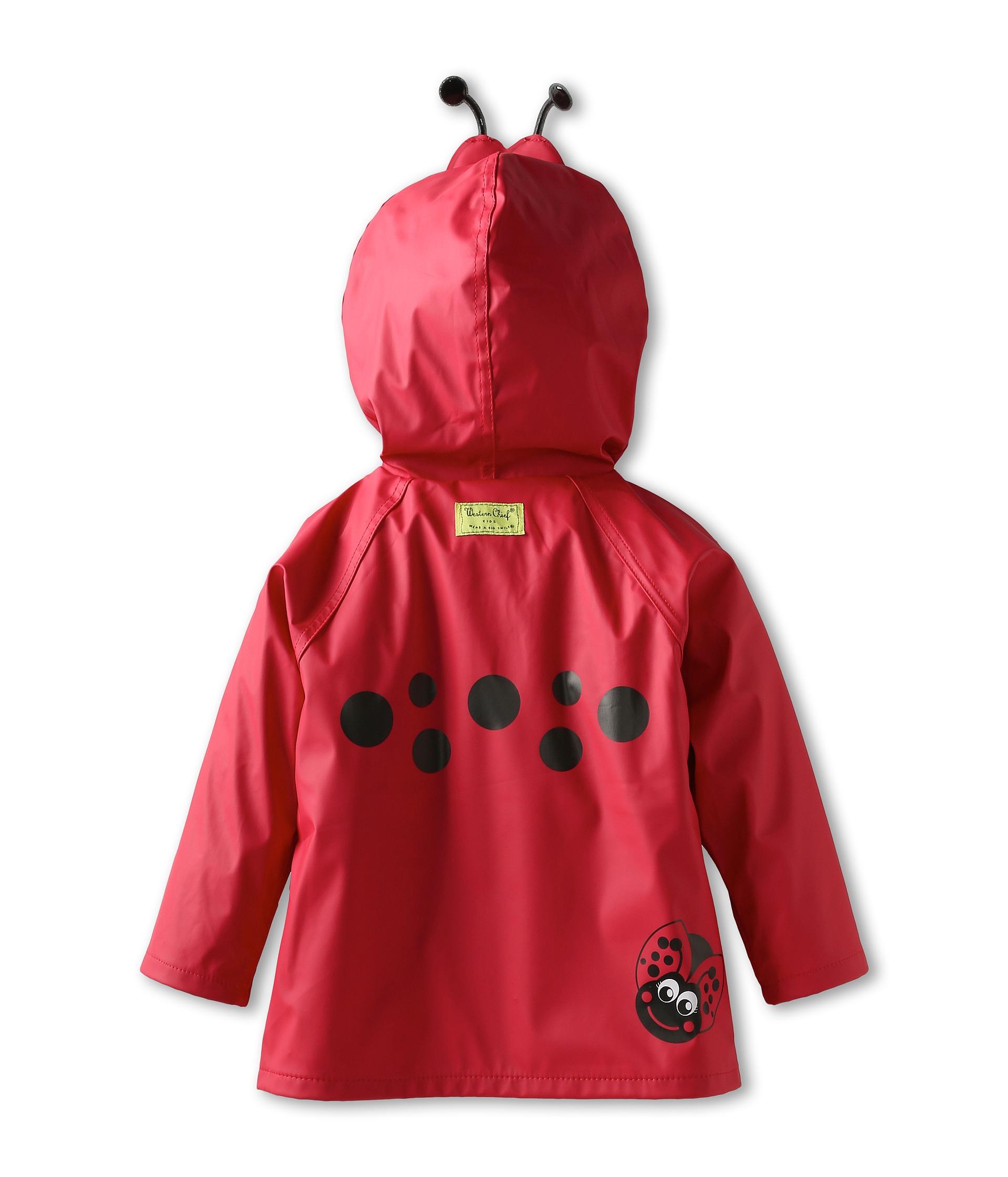 Western Chief Kids Ladybug Raincoat (Toddler/Little Kids ...