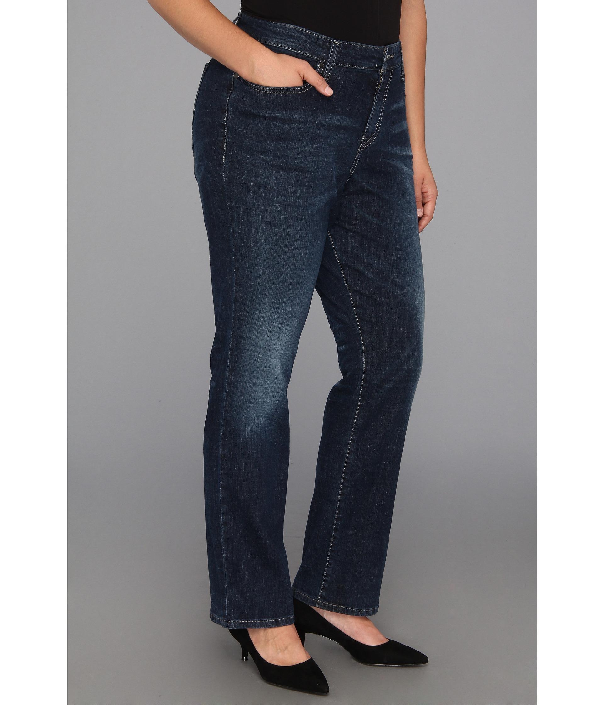 13475d138d6 Levis® Plus Plus Size 580™ Defined Waist Straight Leg Jean