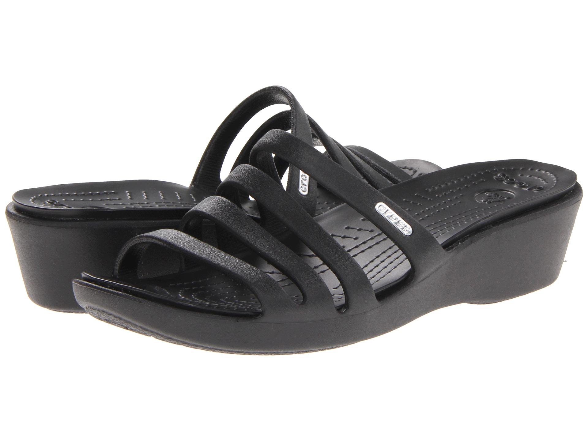 8c039326d38c Crocs Rhonda Wedge Sandal