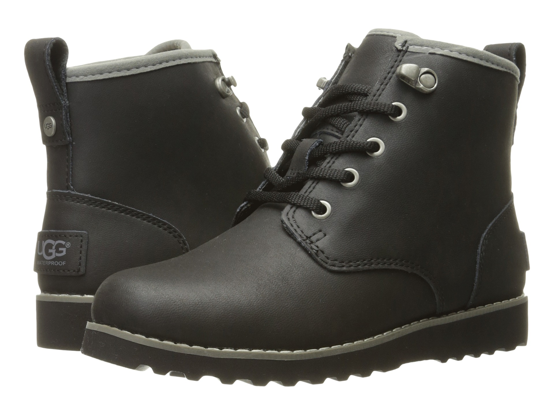 ugg boots men all blac...