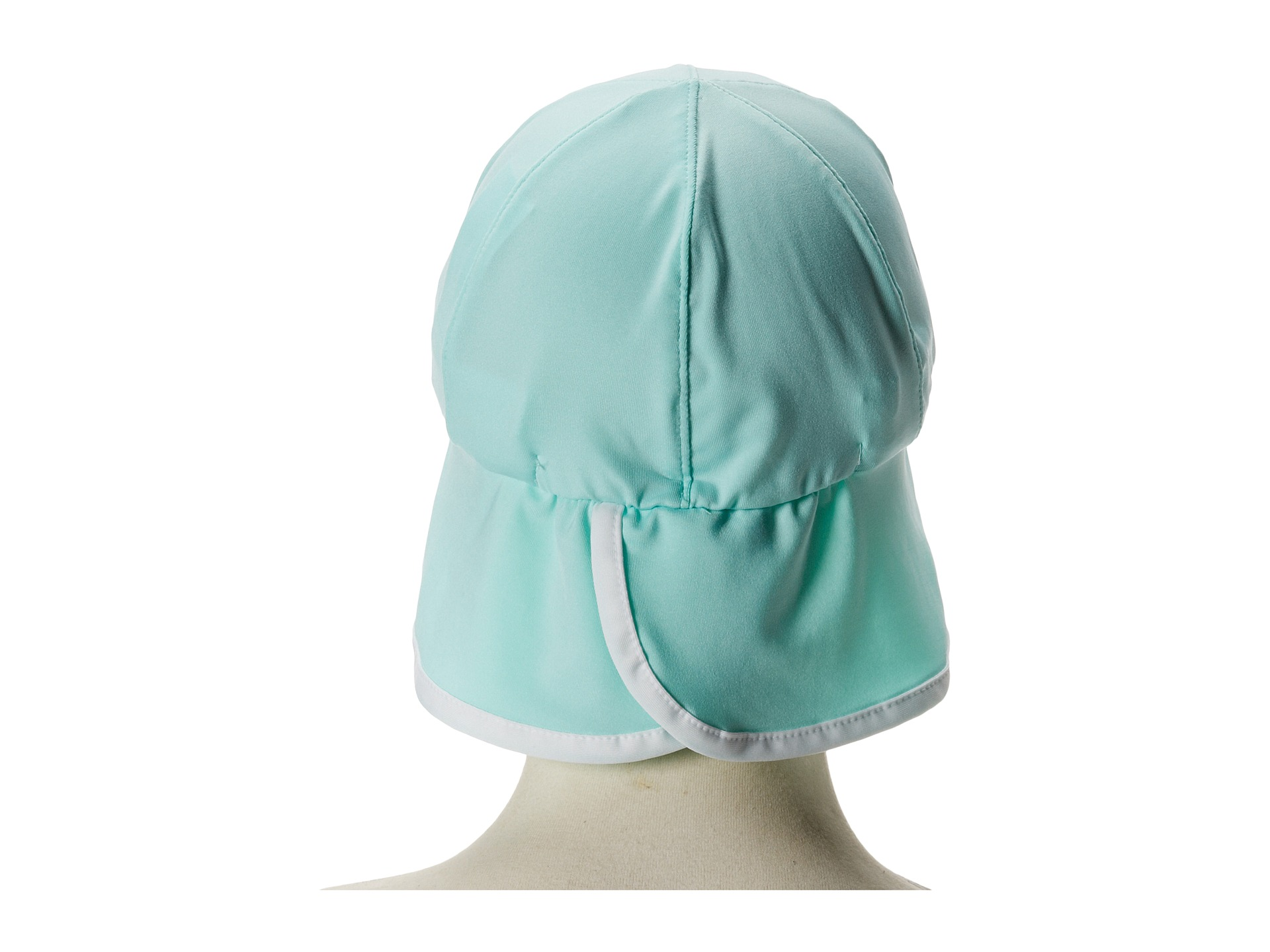The North Face Kids Baby Sun Buster Hat Beach Glass Green