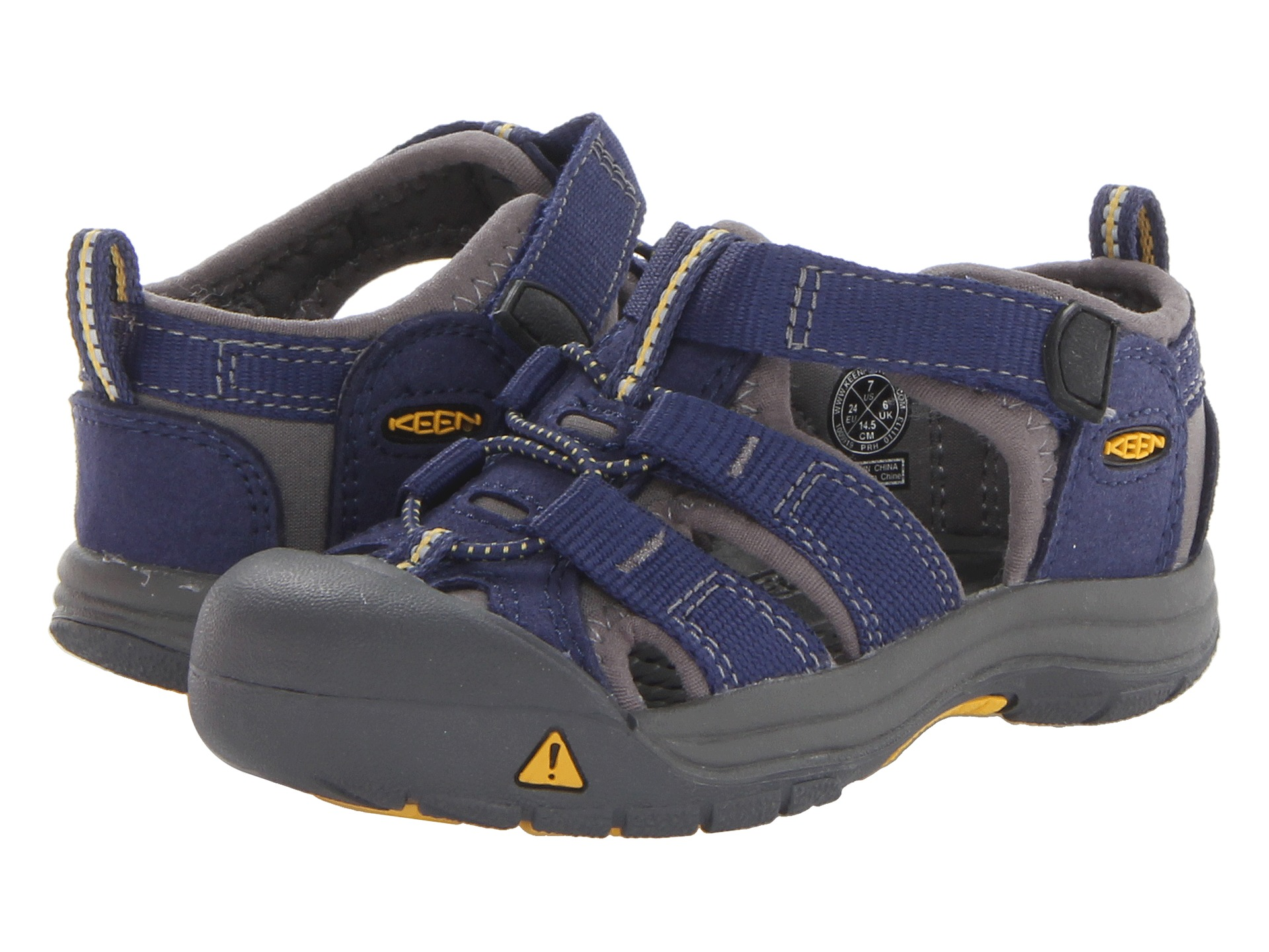 Keen Kids Newport H2 Toddler Blue Depths Gargoyle