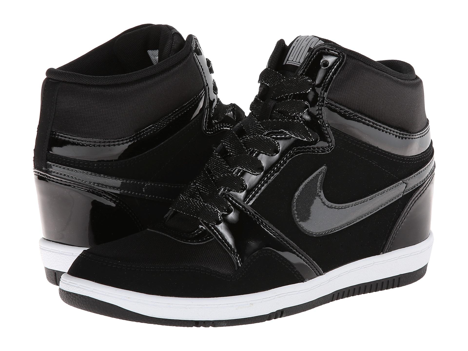 Nike Shoes Black And White Wedge