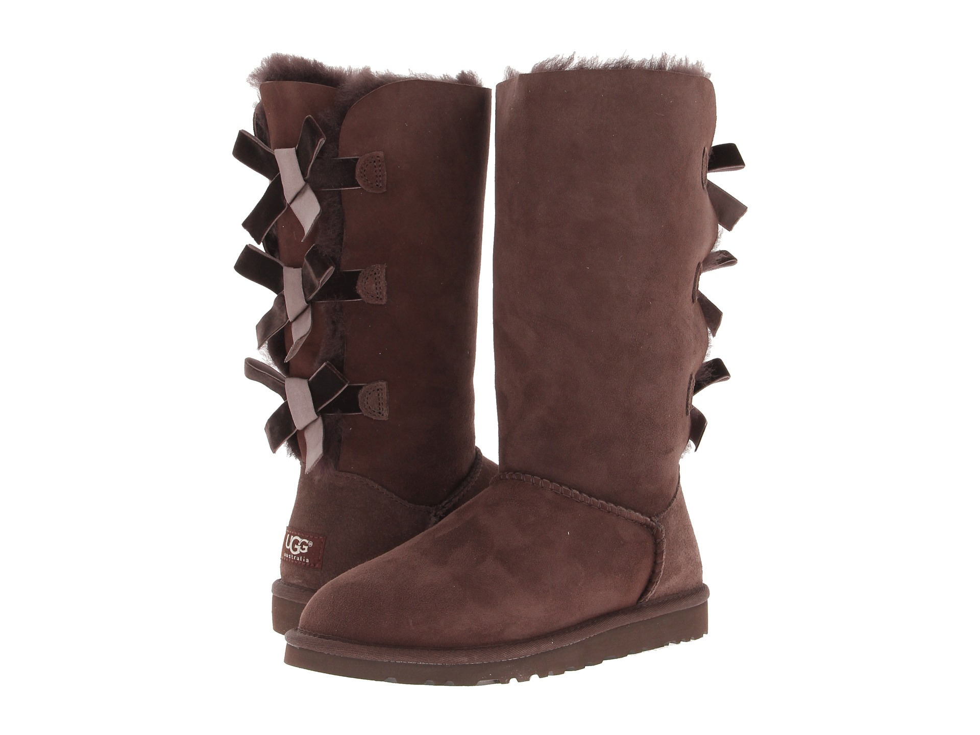 Ugg Bailey Bow Tall Boot Zappos Exclusive Shipped Free
