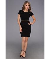 Allen Allen 3 4 Sleeve Dress Black Clothing Women At 6pm Com