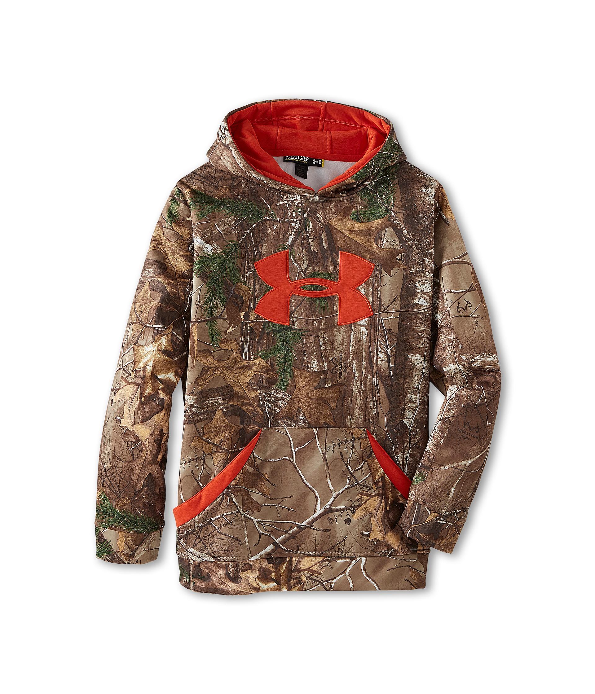 Camo hoodie under armour