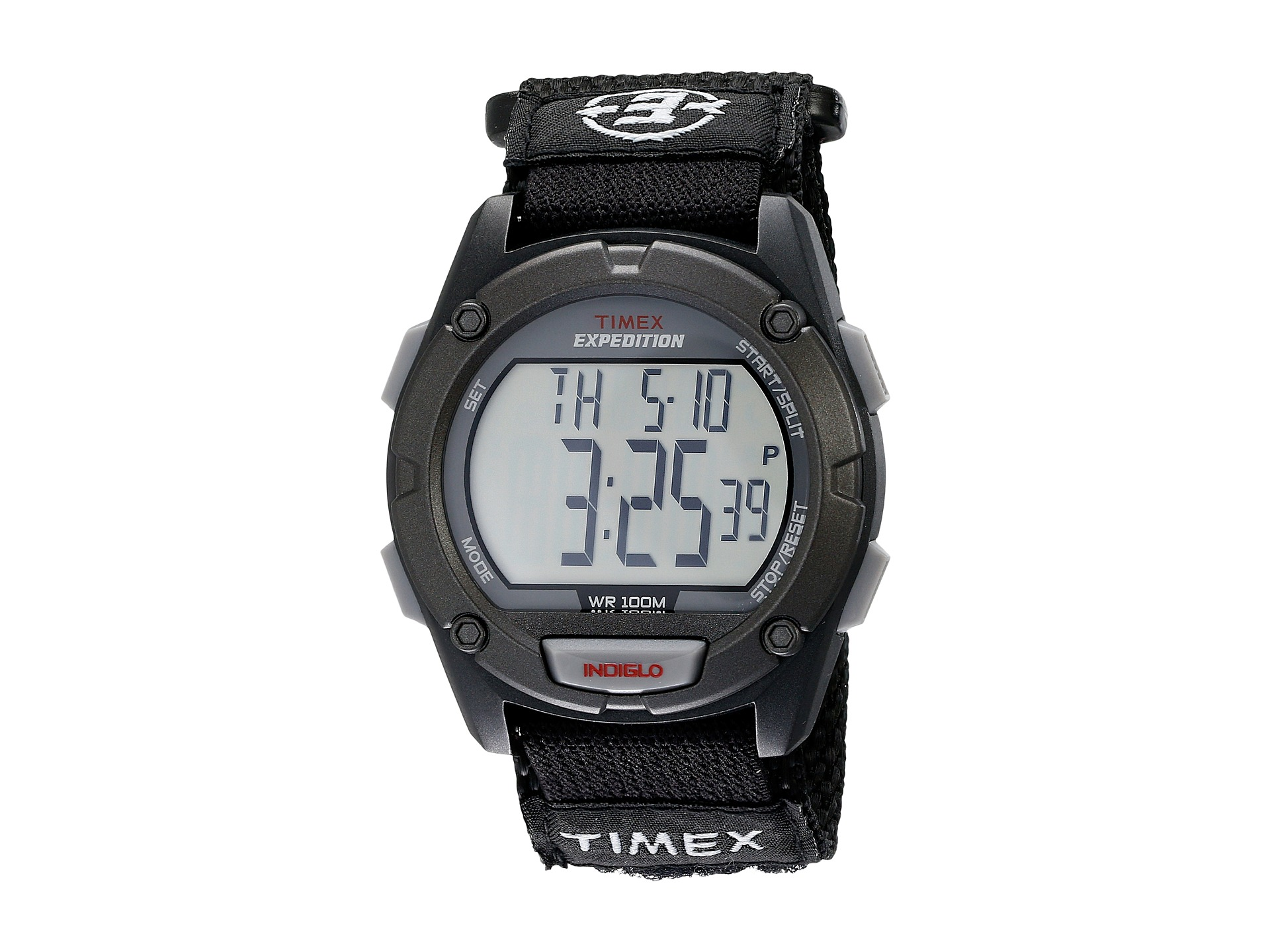 Timex T4B007 Mens Expedition Digital Black Strap Indiglo ... |Timex Expedition Digital Watches Men