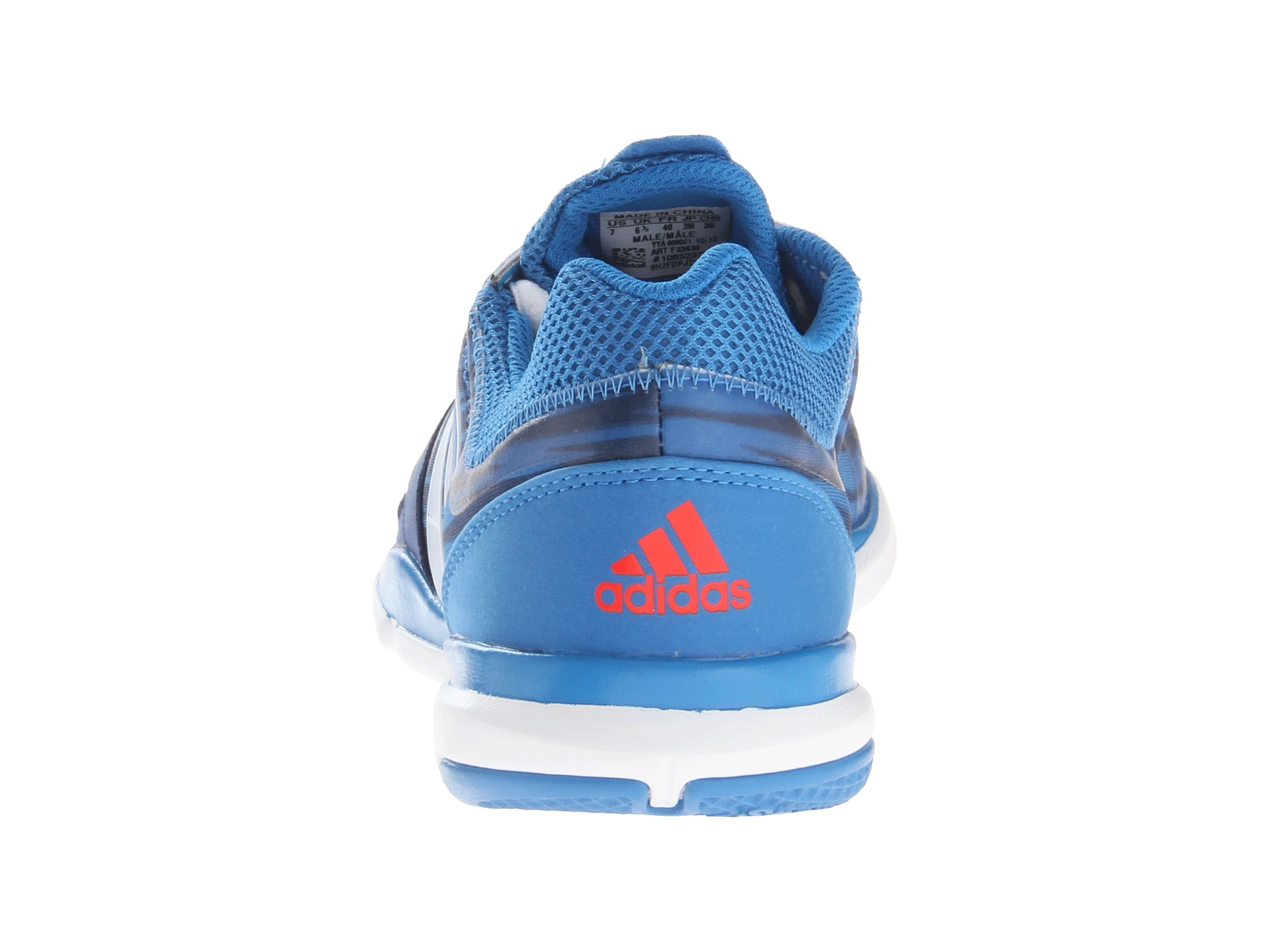 timeless design e77f4 e42b6 adidas adipure Trainer 360 Vivid BlueRunning WhiteHi Res Red