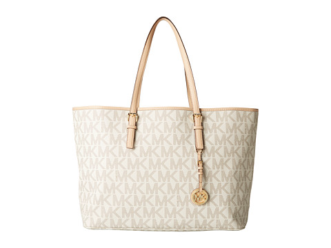 4702a8a9485c1d Michael Michael Kors Jet Set Travel Md Multifunction Tote Vanilla Best  Deals in United States #