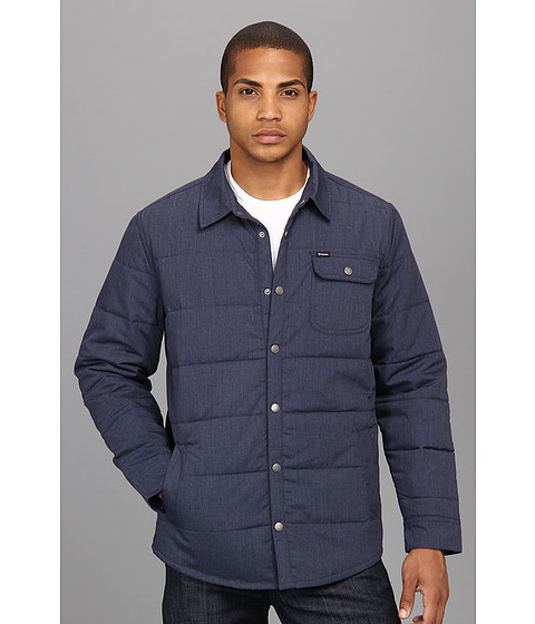 Best review of Brixton Cass Jacket Washed Blue - Men s Coats   Jackets 493f797b675