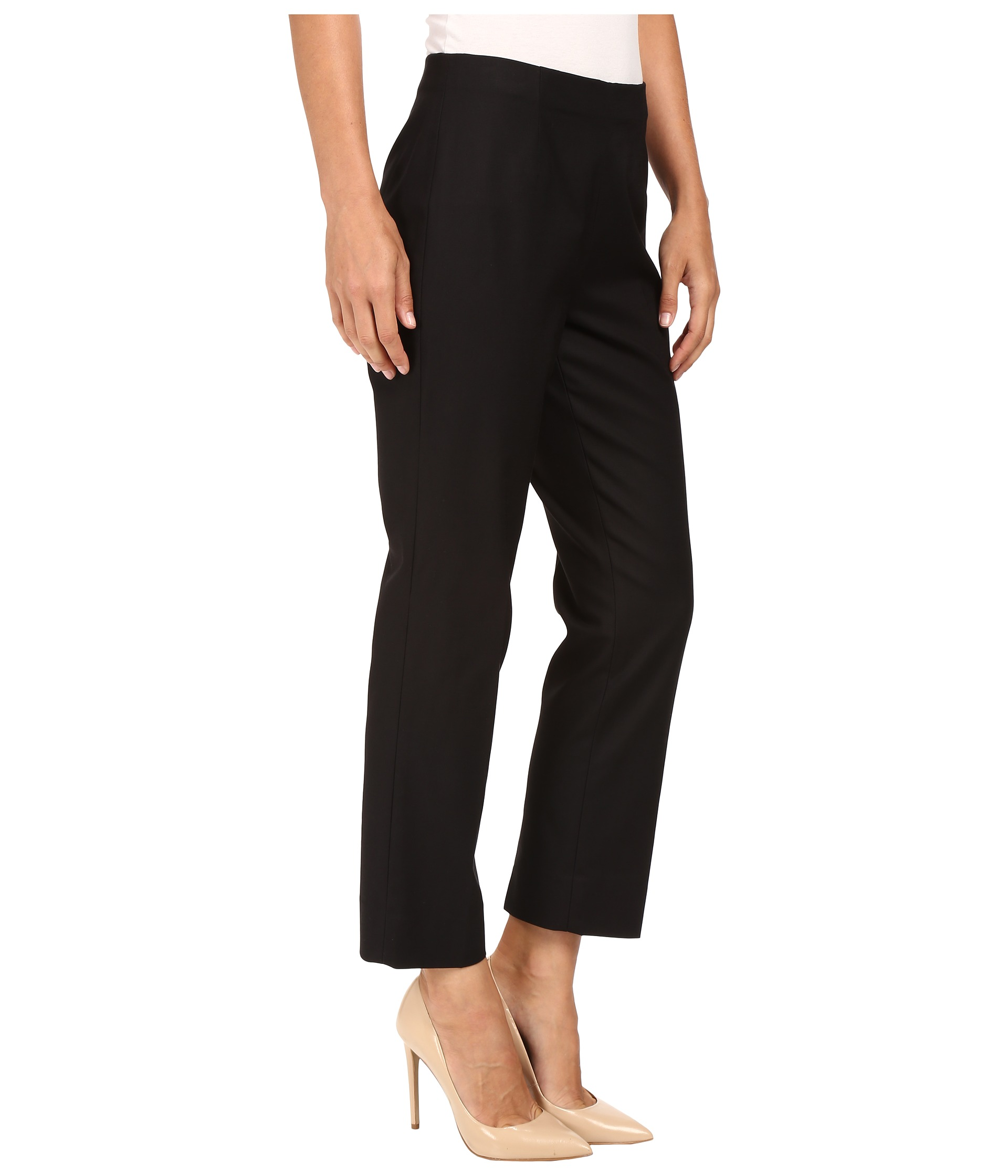 Nic Zoe Perfect Pant Side Zip Ankle At Zappos Com