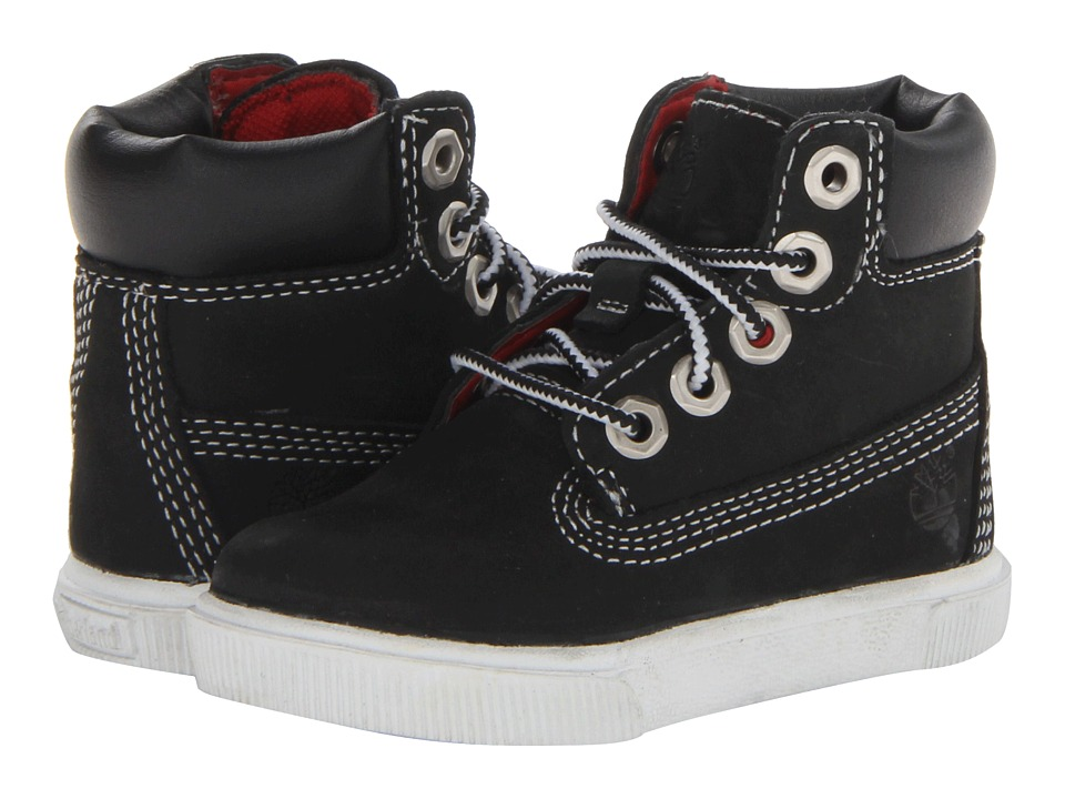 quality design 06373 dfc52 Timberland Kids Earthkeepers 2.0 Cup 6 Boot (Toddler Little Kid) (Black)