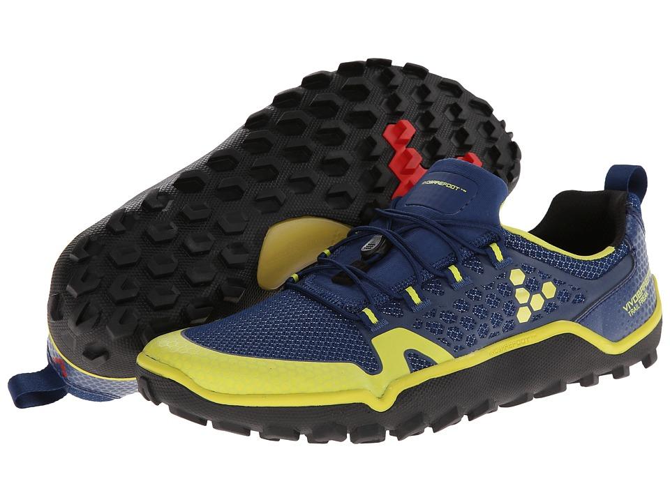 cheap for discount b04ae eeda8 Vivobarefoot Trail Freak (Navy Sulphur) Men s Shoes