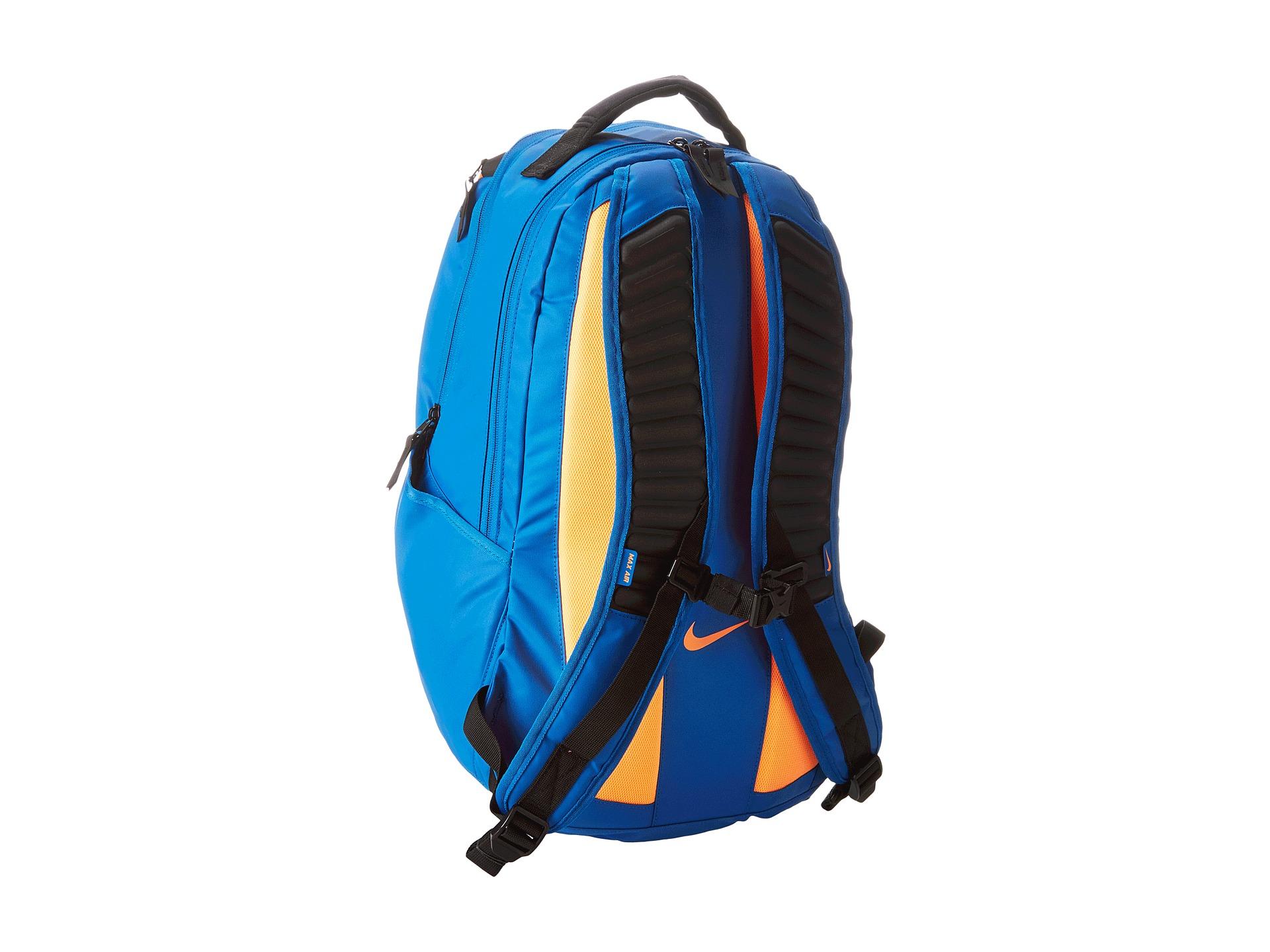 1b138557e7d3 Nike Ultimatum Max Air Gear Backpack Game Royal Black Volt on PopScreen
