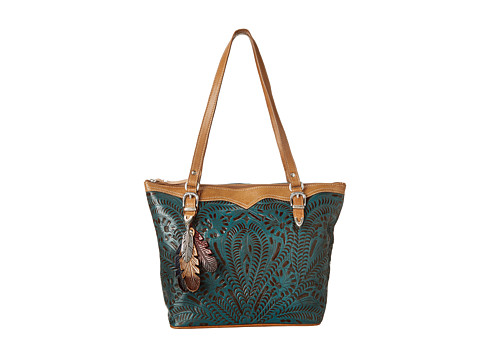 36a9b7a1d9 American West Birds Of A Feather Tote Emerald - Stylish Women Totes