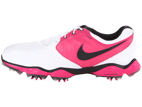 Nike Lunar Control Golf Shoes  White Vivid Pink