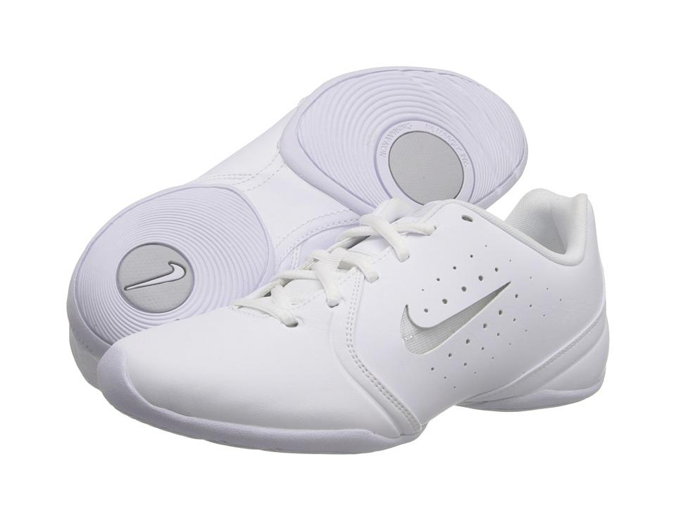 52e1c92a00 UPC 884802335085. Nike Sideline III Insert Cheerleading Shoes (White ...
