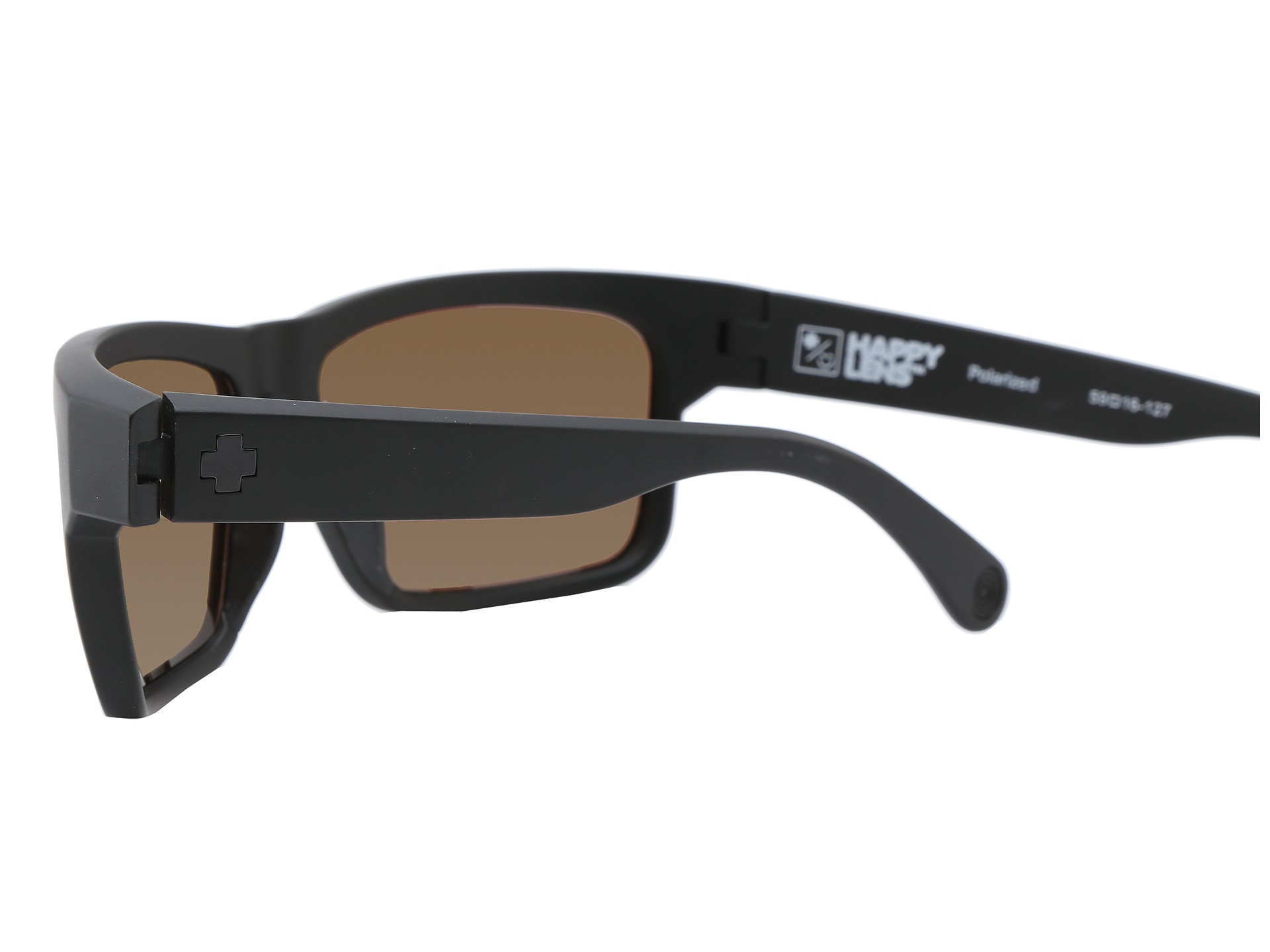 eb1901ffa4 Spy Optic Frazier (Happy Lens) Matte Black - Happy Grey Green - www.