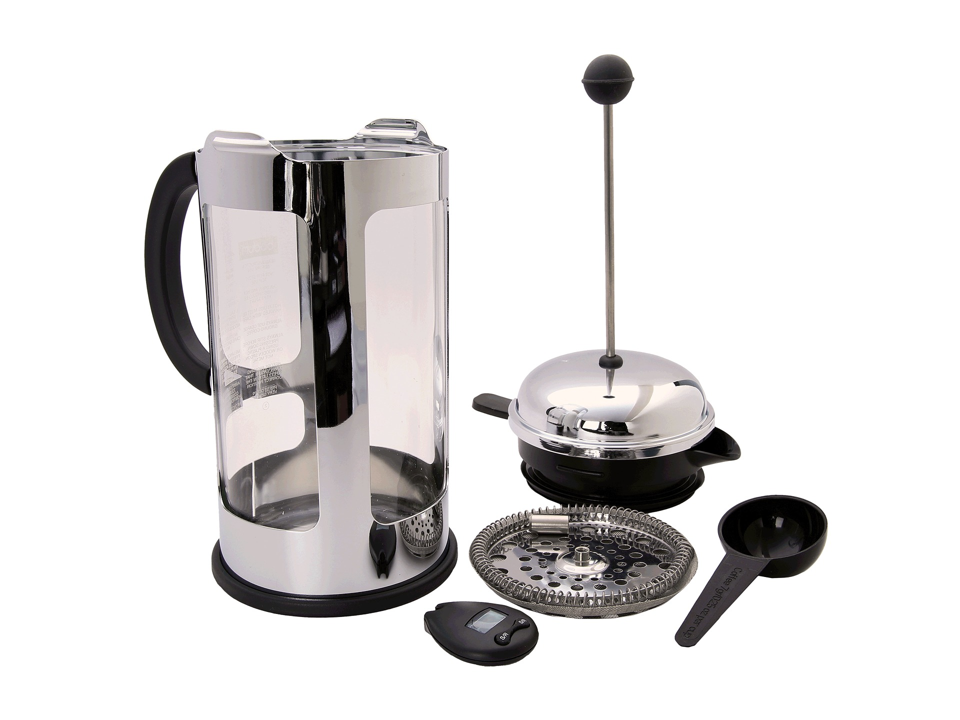 bodum chambord locking lid 8 cup french press coffeemaker with bonus 4 minute shipped free at. Black Bedroom Furniture Sets. Home Design Ideas