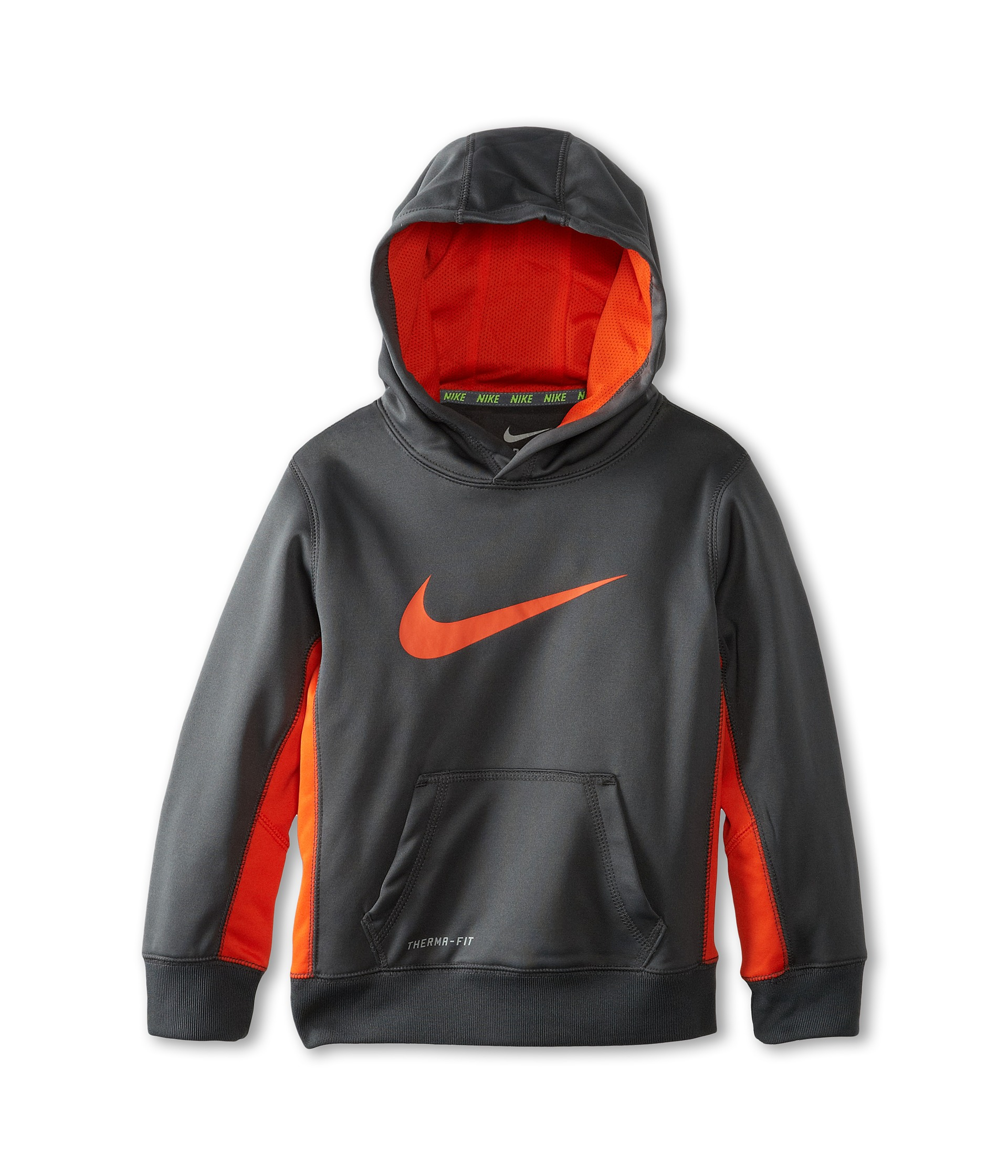 Nike Kids Boys Therma Fit Pullover Hoodie Little Kids ...