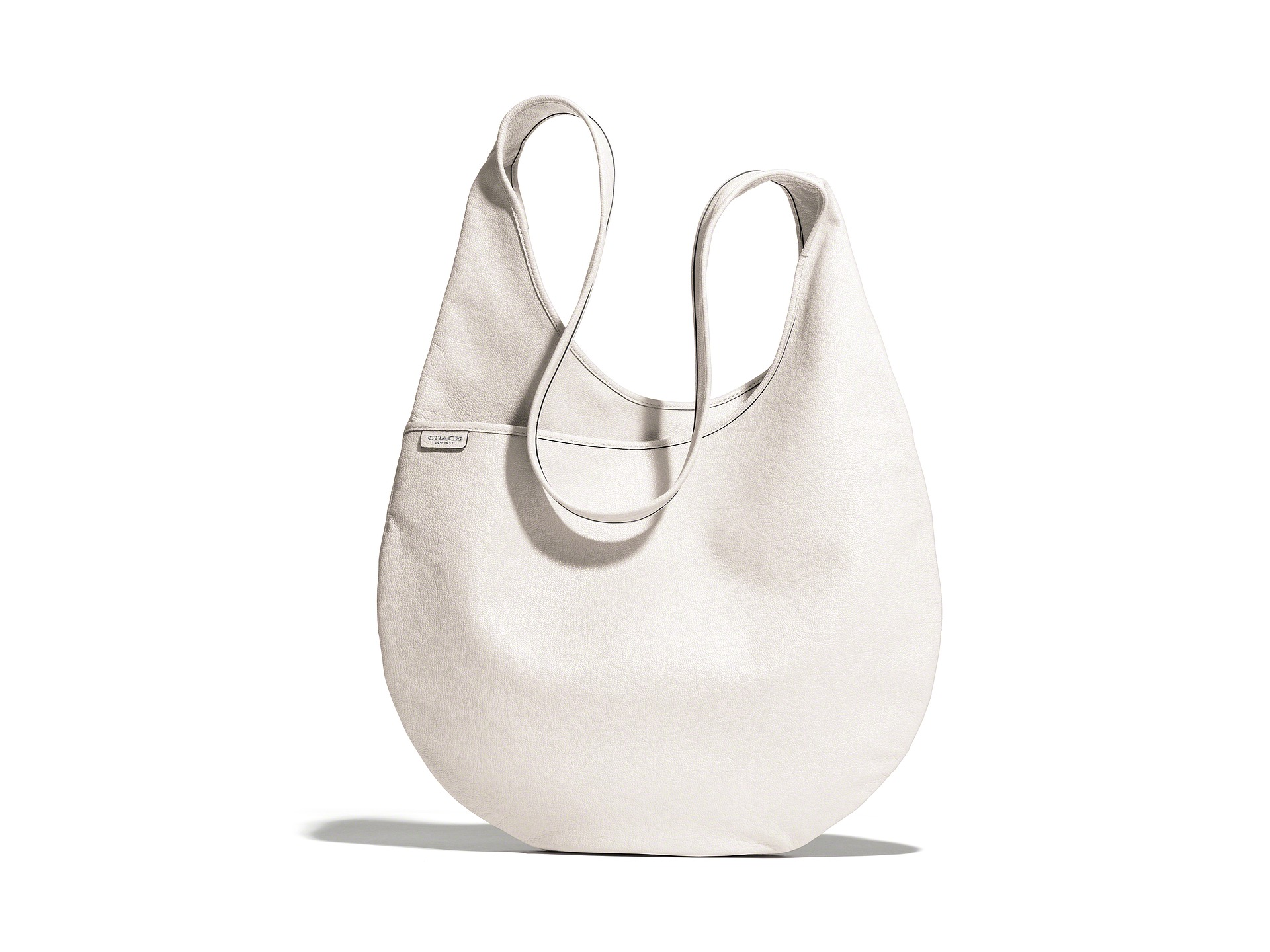 Coach Bleecker Leather Sling Bag Silver Parchment | Shipped Free at Zappos