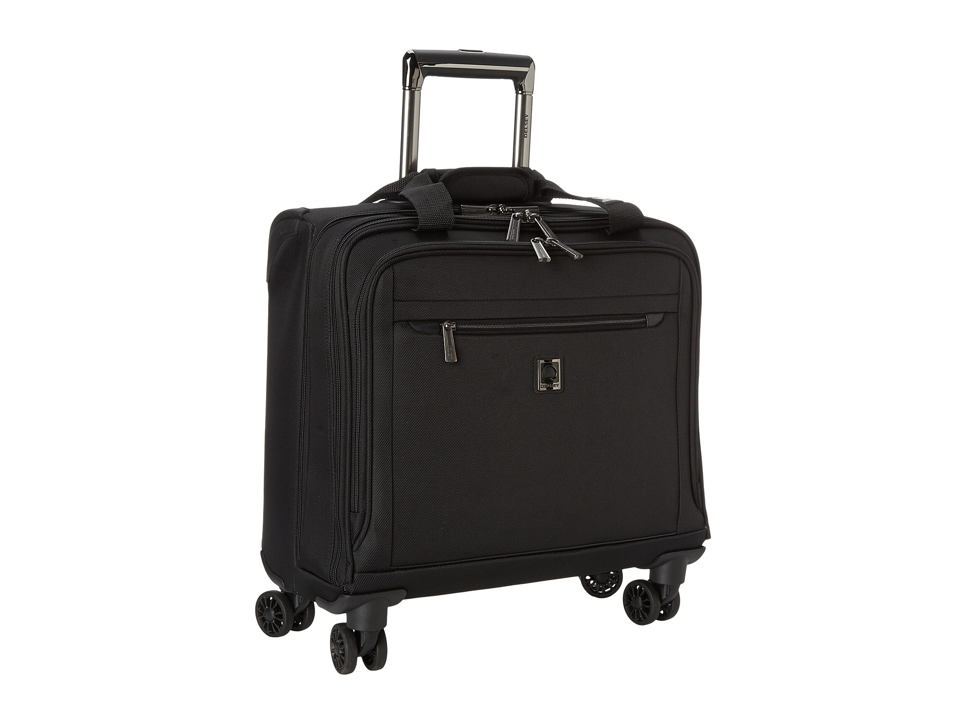 delsey helium xpert lite 2 0 spinner trolley tote shipped free at zappos. Black Bedroom Furniture Sets. Home Design Ideas