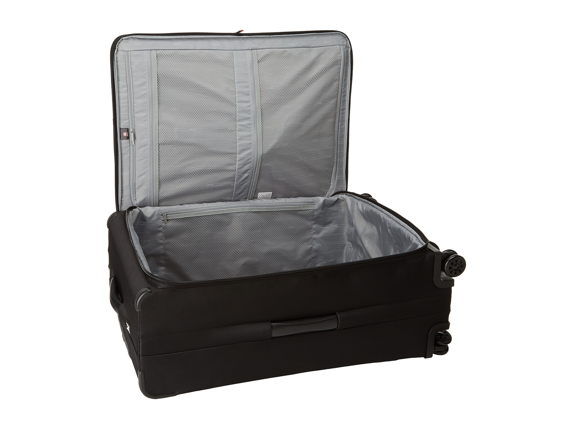 delsey helium xpert lite 2 0 30 expandable spinner suiter trolley black shipped free at zappos. Black Bedroom Furniture Sets. Home Design Ideas