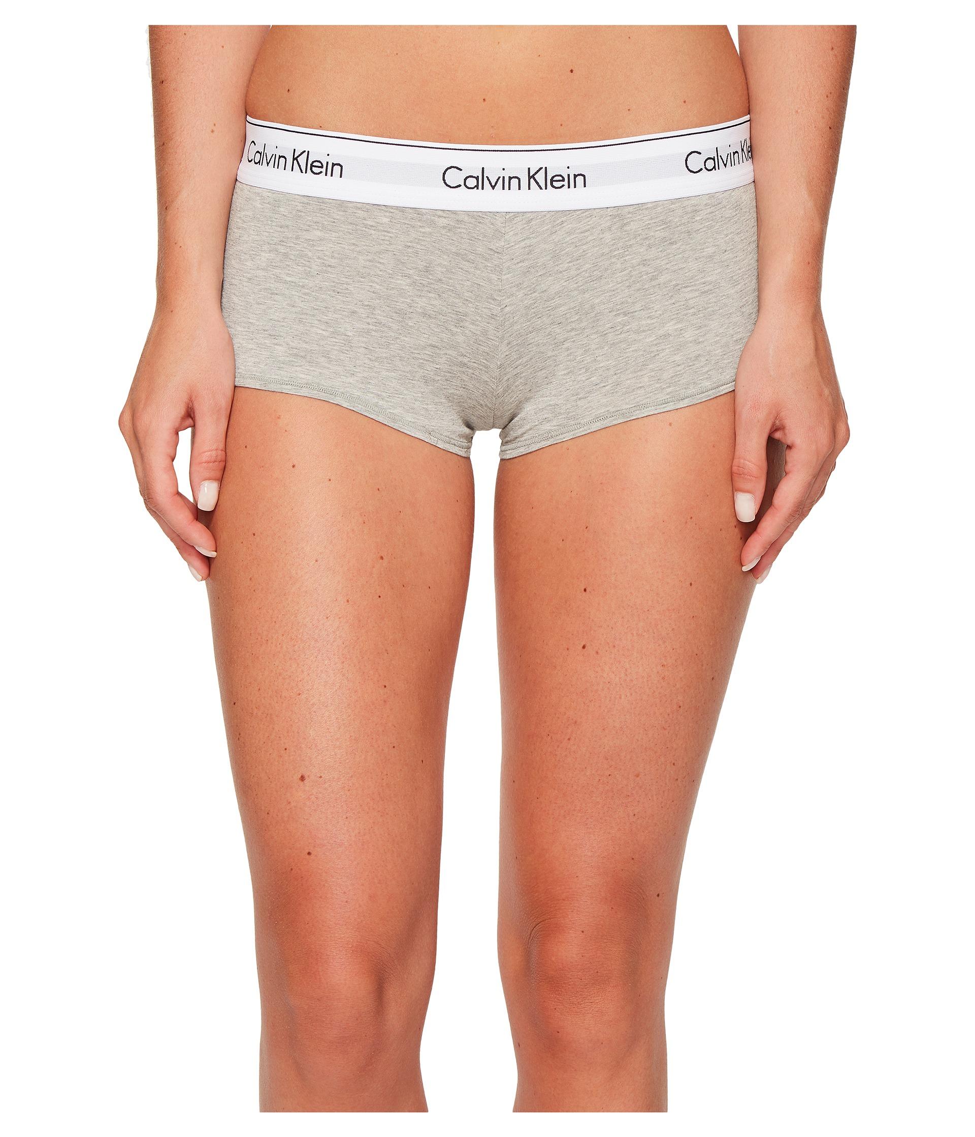 b9b0c2003aee Calvin Klein Underwear Modern Cotton Short Grey Heather Shipped Free