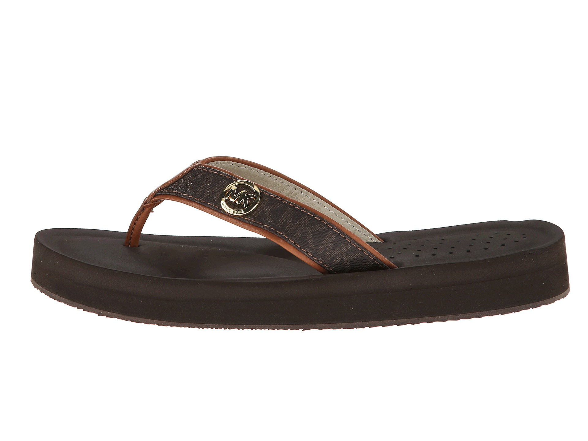 d98a0efef Buy michael kors flip flop sandals   OFF74% Discounted