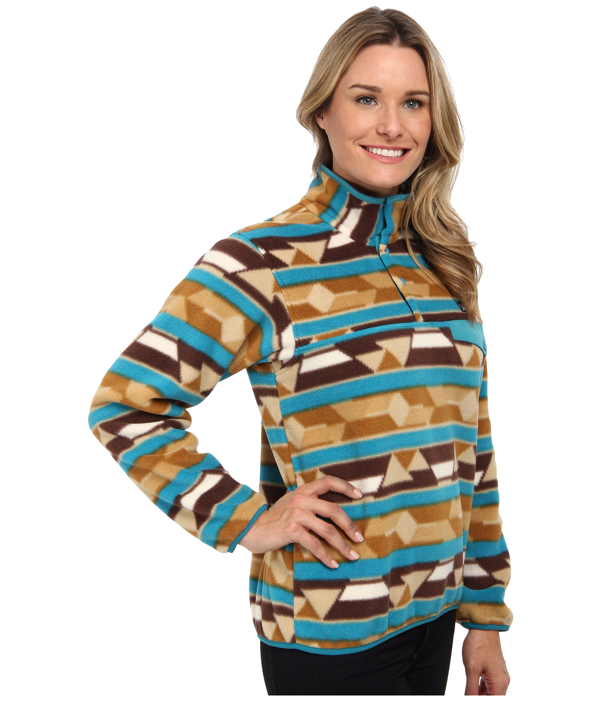 Patagonia Lightweight Synchilla Snap T Pullover Shipped