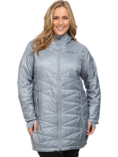 1adf8f85b13 review detail Columbia Plus Size Mighty Lite™ Hooded Jacket Tradewinds  Grey.