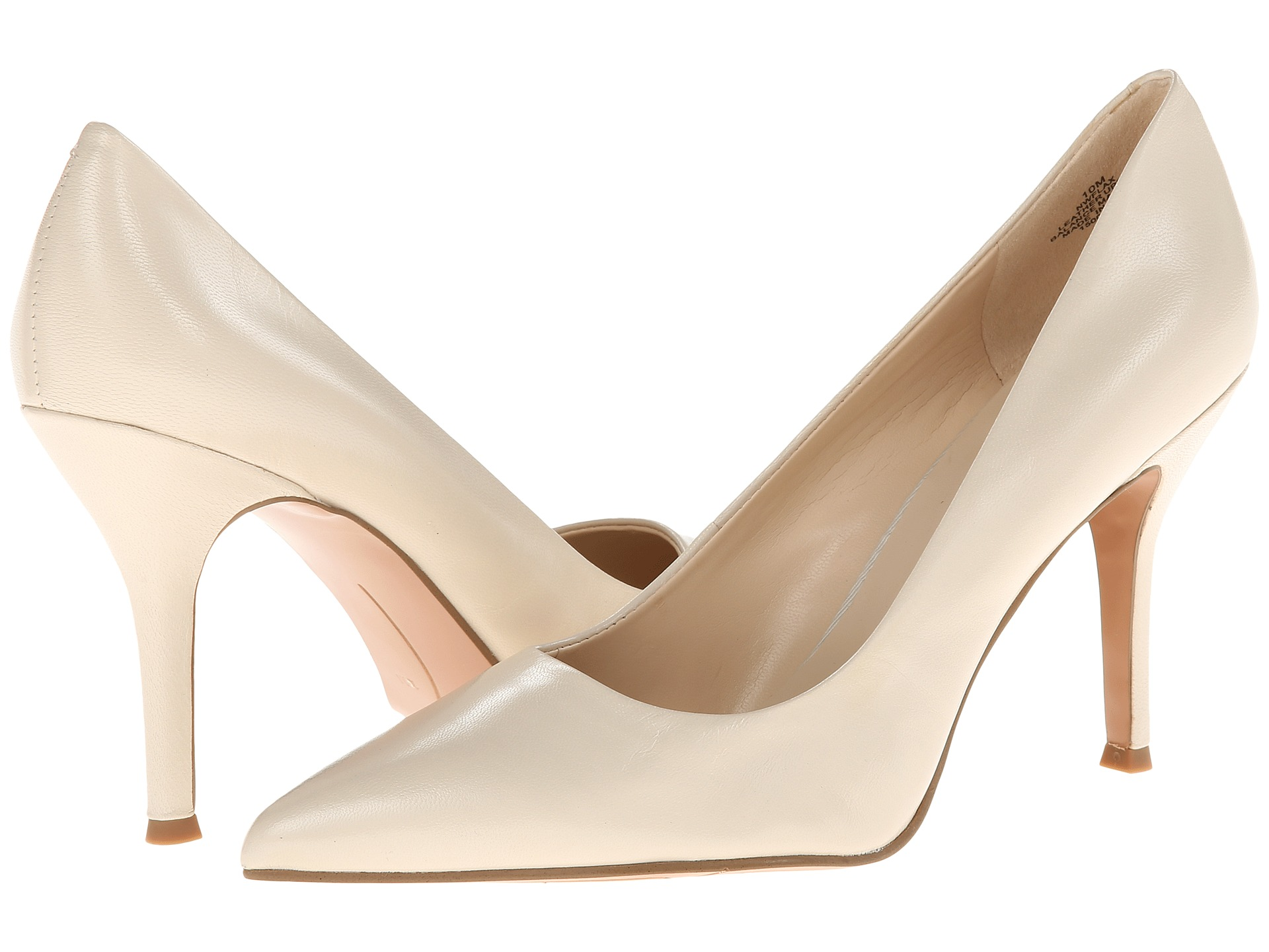 41b4fe08e8f Nine West Flax Off White Leather on PopScreen